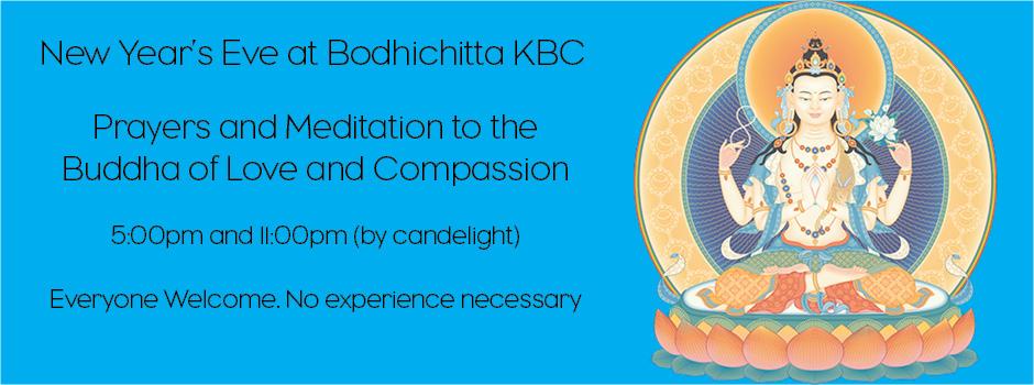 New Year\'s Eve Avalokiteshvara Prayers | Bodhichitta Kadampa ...