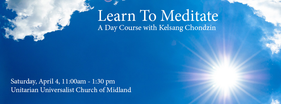 Learn to Meditate(Midland) @ UU Church of Midland   Woodville   Texas   United States