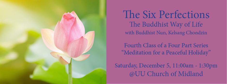 Meditation for a Peaceful Holiday (Midland) @ UU Church of Midland | Midland | Texas | United States