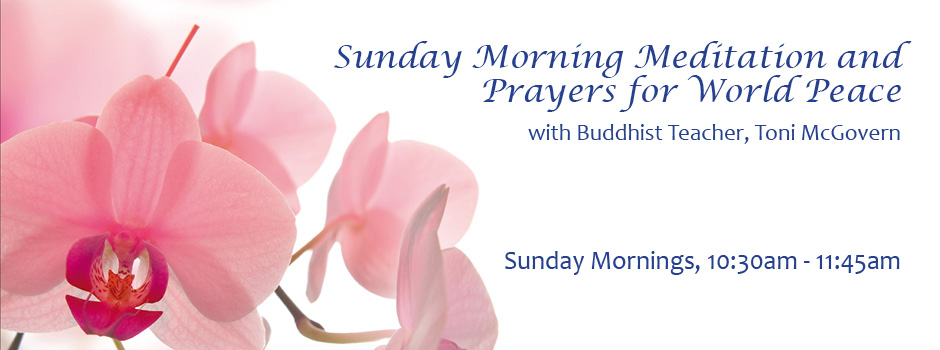 Sunday Meditation and Prayers for World Peace @ Lubbock | Texas | United States
