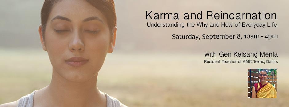 Karma and Reincarnation @ Lubbock | Texas | United States