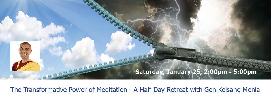 Transformative Power of Meditation