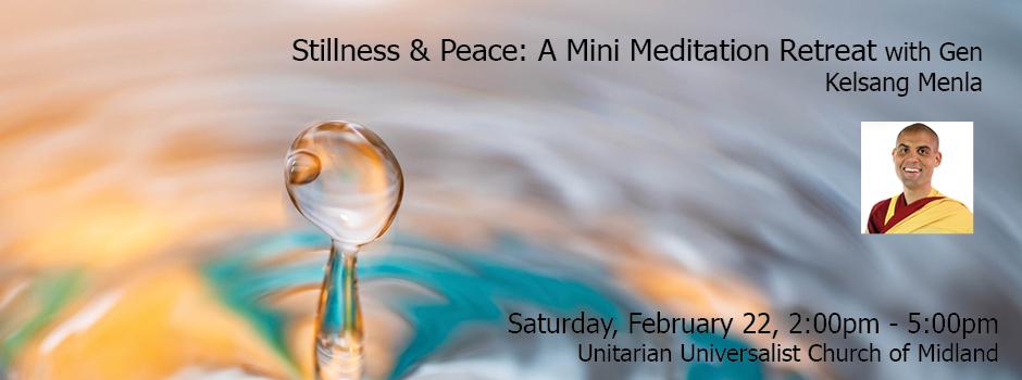 Stillness and Peace Retreat @ Unitarian Universalist Church of Midland